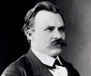 Talk about shadows. Nietzsche's mustache must have had one of its own.
