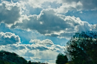 I love the depth of the clouds that HDR helps create